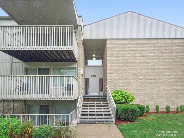 2315 Packard St A205, Ann Arbor, MI 48104 (MLS #3283443) :: Kelder Real Estate Group