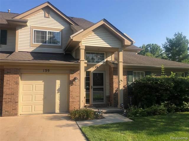 139 S Vista, Auburn Hills, MI 48326 (MLS #2210069281) :: The BRAND Real Estate