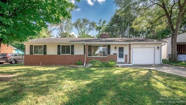 2045 Suffolk Ave, Ann Arbor, MI 48103 (MLS #3283630) :: Kelder Real Estate Group