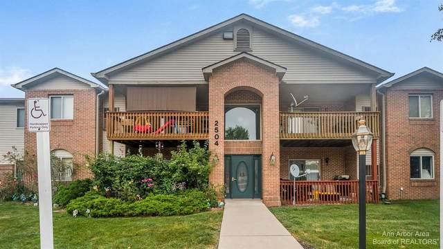 2504 Eagles Cir #2, Ypsilanti, MI 48197 (MLS #3283547) :: The BRAND Real Estate