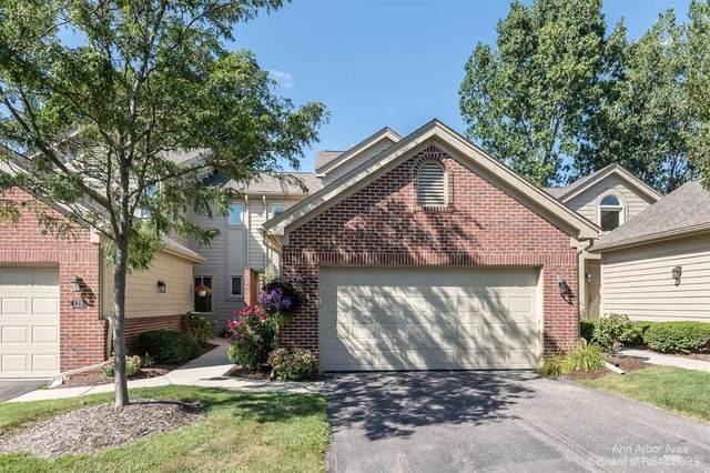 126 Ponds View Dr, Ann Arbor, MI 48103 (MLS #3283728) :: Kelder Real Estate Group