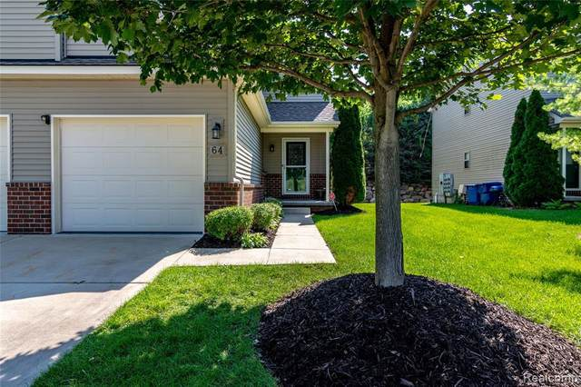 64 Millstone Dr, Waterford, MI 48328 (MLS #2210073715) :: The BRAND Real Estate