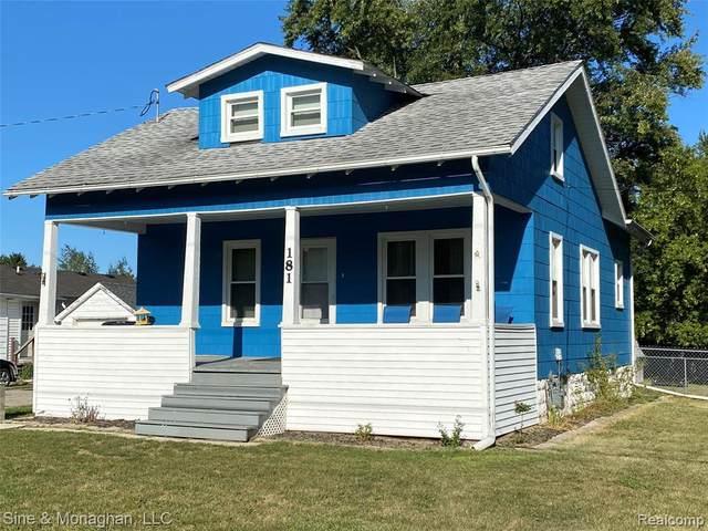 181 Michigan Ave, Marysville, MI 48040 (MLS #2210074054) :: The BRAND Real Estate