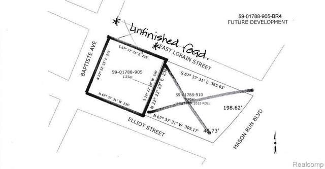 000 Elliot St, Monroe, MI 48162 (MLS #2210075099) :: The BRAND Real Estate