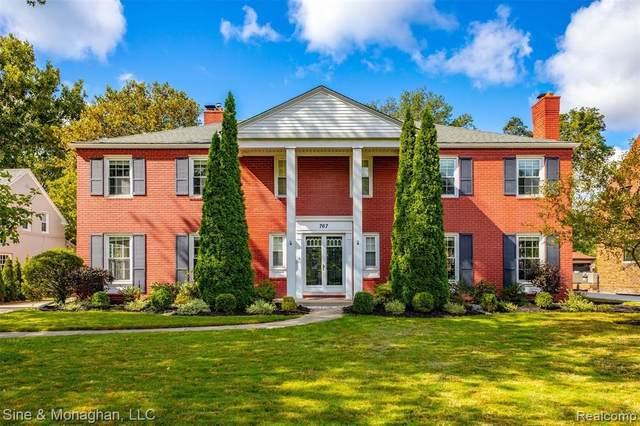767 Berkshire Rd, Grosse Pointe Park, MI 48230 (MLS #2210075955) :: The BRAND Real Estate