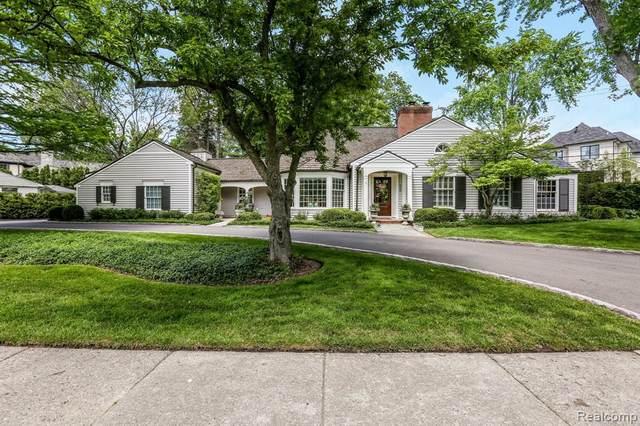 320 Lakeside Dr, Birmingham, MI 48009 (MLS #2210077065) :: Kelder Real Estate Group