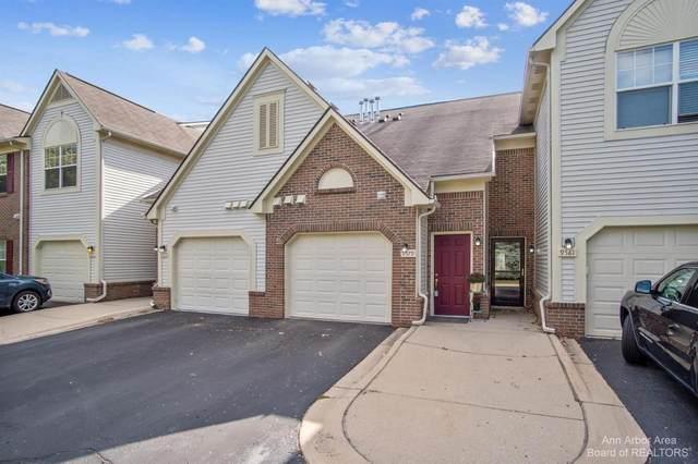 9579 Lakeside Dr, Ypsilanti, MI 48197 (MLS #3283890) :: Kelder Real Estate Group