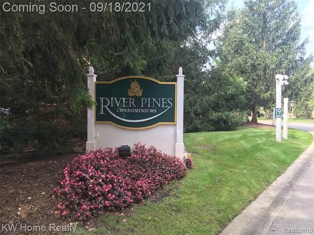22229 River Pines Dr Unit#19-Bldg#6, Farmington Hills, MI 48335 (MLS #2210078131) :: The BRAND Real Estate