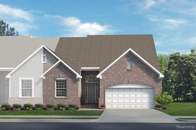 48521 Long Island Dr Unit#77-Bldg#39, Macomb, MI 48042 (MLS #2210078317) :: The BRAND Real Estate