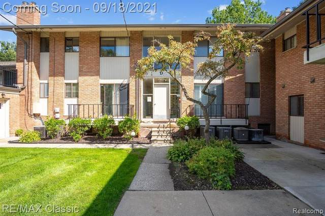 500 Ford St Apt D5, Plymouth, MI 48170 (MLS #2210078011) :: The BRAND Real Estate