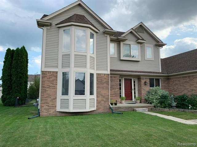 22480 Streamside Dr, Macomb, MI 48044 (MLS #2210078585) :: The BRAND Real Estate