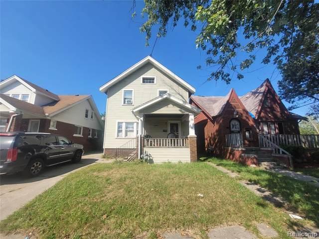 12789 Manor St, Detroit, MI 48238 (MLS #2210076744) :: The BRAND Real Estate