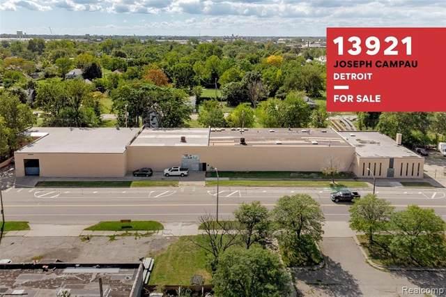 13921 Joseph Campau St, Detroit, MI 48212 (MLS #2210079248) :: The BRAND Real Estate