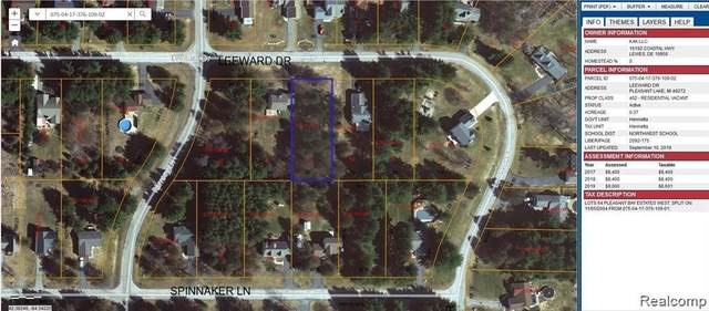 VL Leeward Dr, Pleasant Lake, MI 49272 (MLS #2210080345) :: Kelder Real Estate Group