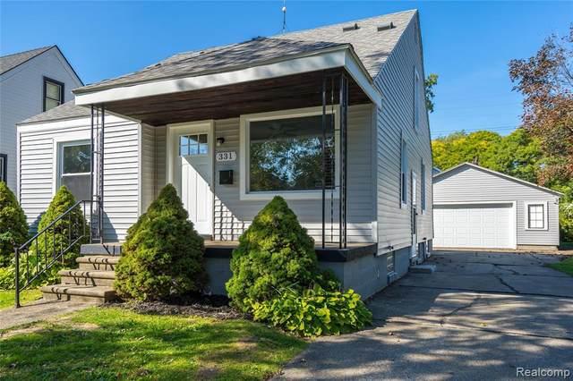 331 E Bernhard Ave, Hazel Park, MI 48030 (MLS #2210083110) :: Kelder Real Estate Group