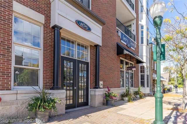 855 Penniman Ave Apt 202 Unit#202, Plymouth, MI 48170 (MLS #2210086849) :: Kelder Real Estate Group
