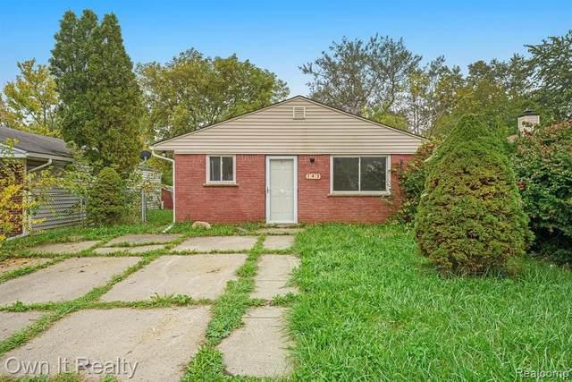 143 W Kennett Rd, Pontiac, MI 48340 (MLS #2210084142) :: Kelder Real Estate Group