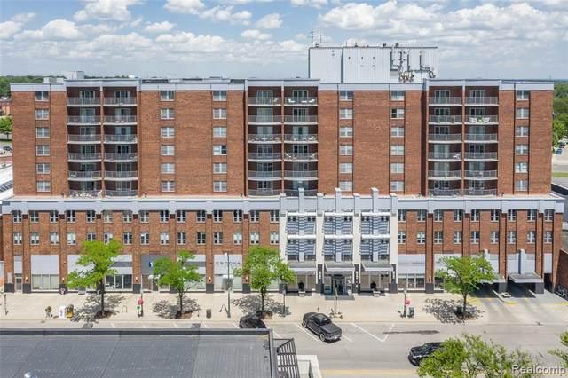 411 S Old Woodward Ave Unit#701, Birmingham, MI 48009 (MLS #2210087081) :: Kelder Real Estate Group