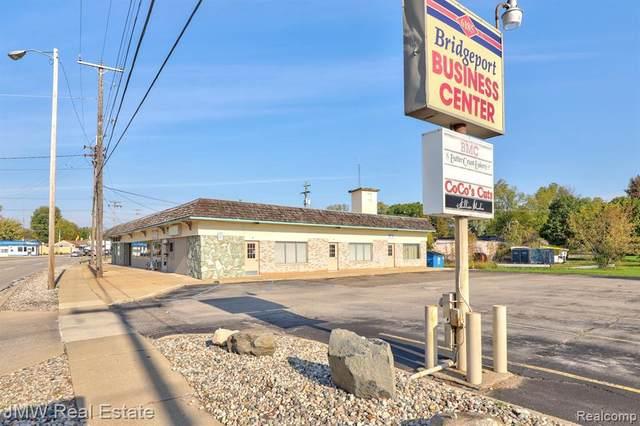 6187 Dixie Hwy, Bridgeport, MI 48722 (MLS #2210086433) :: Kelder Real Estate Group