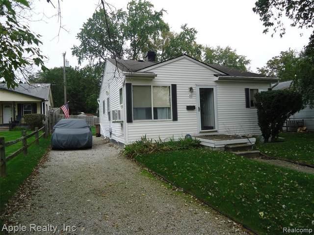 82 W Tennyson Ave, Pontiac, MI 48340 (MLS #2210087124) :: Kelder Real Estate Group