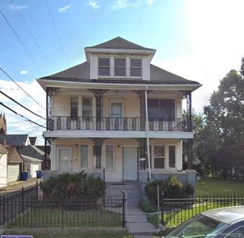 9316 Dubois St, Hamtramck, MI 48212 (MLS #2210087245) :: Kelder Real Estate Group