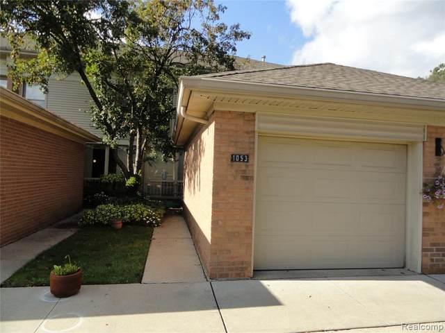 1053 Trevor Place St, Detroit, MI 48207 (MLS #2210087246) :: Kelder Real Estate Group
