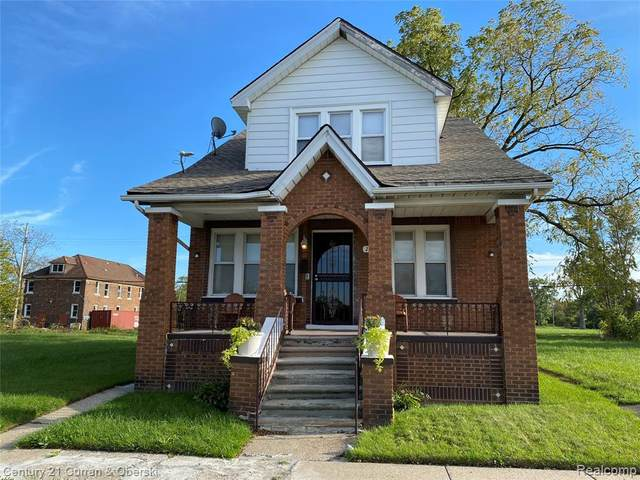 2432 Grant St, Detroit, MI 48212 (MLS #2210087263) :: Kelder Real Estate Group