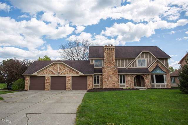 1570 Kings Carriage Road, Grand Blanc, MI 48439 (MLS #50003719) :: The John Wentworth Group