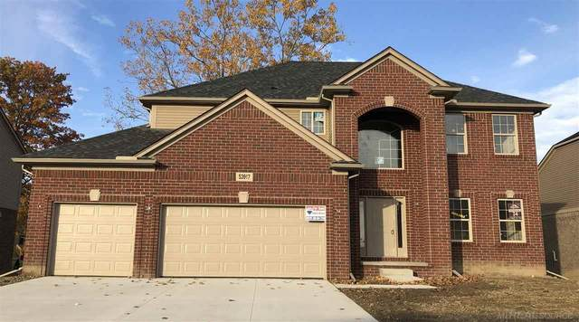49384 Mustang Dr, Macomb Twp, MI 48042 (MLS #50016446) :: Scot Brothers Real Estate