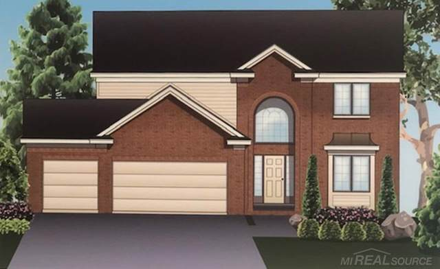 49360 Mustang Dr., Macomb Twp, MI 48042 (MLS #50016449) :: Scot Brothers Real Estate