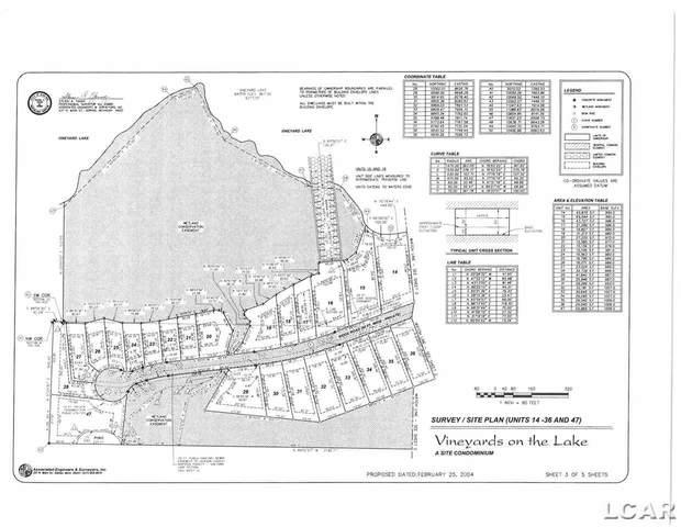 105 Bloomfield Blvd Unit 44, Brooklyn, MI 49230 (MLS #50027860) :: The BRAND Real Estate