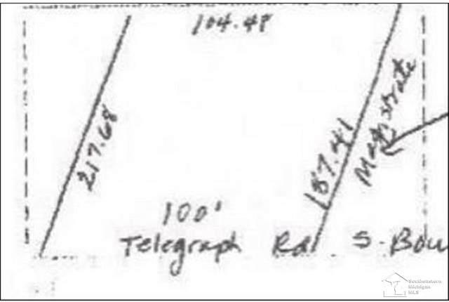 000 S Telegraph, La Salle, MI 48145 (MLS #50031785) :: The BRAND Real Estate