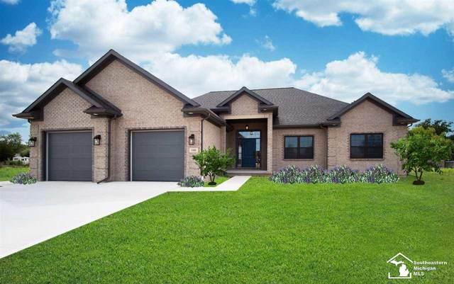188 Callaway Dr, Monroe, MI 48162 (MLS #50031796) :: The BRAND Real Estate