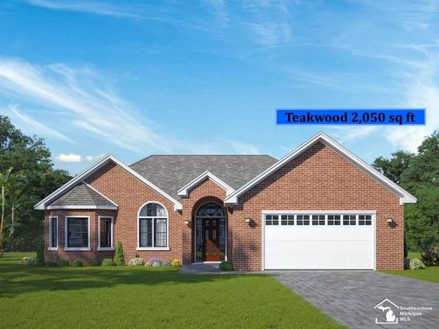 174 Callaway Dr, Monroe, MI 48162 (MLS #50031797) :: The BRAND Real Estate