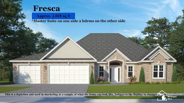 267 Basswood Dr, Monroe, MI 48162 (MLS #50031799) :: The BRAND Real Estate