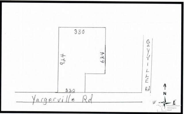 1800 Yargerville, La Salle, MI 48145 (MLS #50032012) :: The BRAND Real Estate