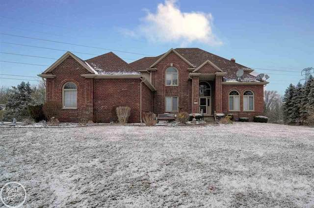 5755 Middle Branch Drive, Shelby Twp, MI 48316 (MLS #50032576) :: The BRAND Real Estate