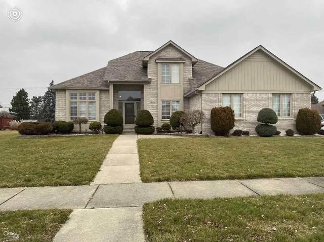 14223 Barton, Shelby Twp, MI 48315 (MLS #50032721) :: The BRAND Real Estate