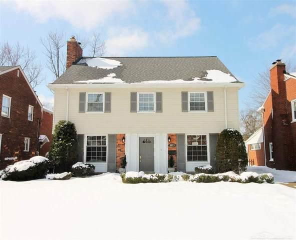1173 Whittier, Grosse Pointe Park, MI 48230 (MLS #50035395) :: The BRAND Real Estate