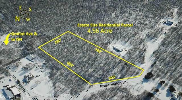 150 Preservation Ln, East China, MI 48074 (MLS #50035430) :: The BRAND Real Estate