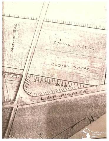 Laplaisance Road, La Salle, MI 48145 (MLS #50036917) :: The BRAND Real Estate