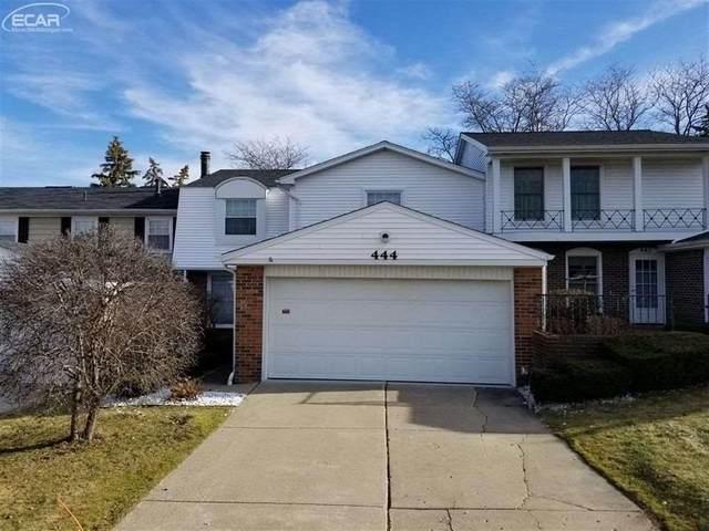 444 Ashley Drive, Grand Blanc, MI 48439 (MLS #50038596) :: The BRAND Real Estate
