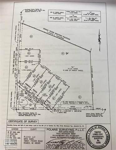 00 Armada Ridge Parcel 6, Richmond, MI 48062 (MLS #50038884) :: The BRAND Real Estate