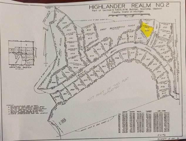 LOT 420 Highlander Way, Gladwin, MI 48624 (MLS #50041468) :: The Tom Lipinski Team at Keller Williams Lakeside Market Center