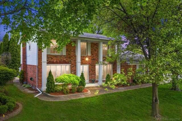 39708 Berkley, Clinton Township, MI 48038 (MLS #50041711) :: The BRAND Real Estate