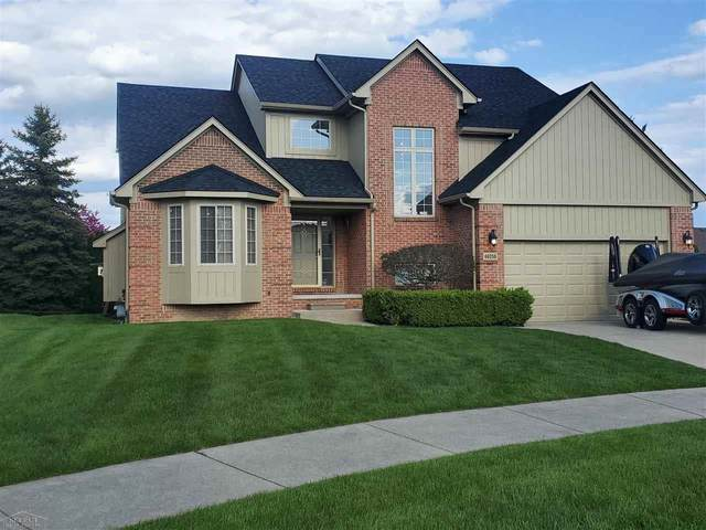 49256 Brockton Court, Chesterfield Twp, MI 48047 (MLS #50041772) :: The BRAND Real Estate