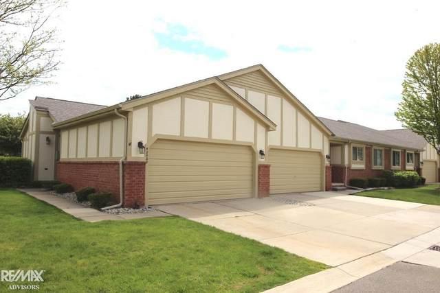 42080 Park Ln, Clinton Township, MI 48038 (MLS #50041820) :: The BRAND Real Estate