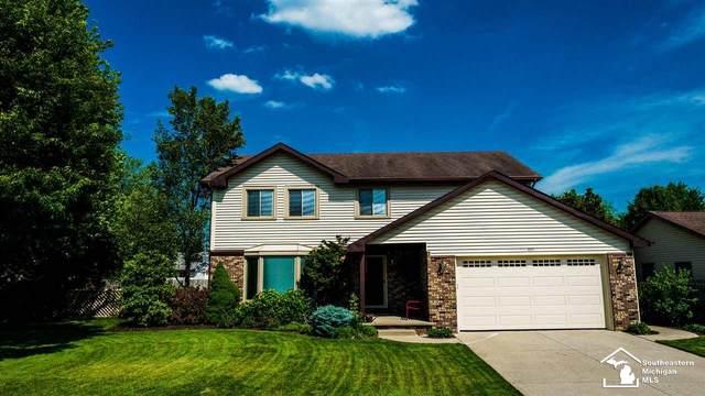 495 Grace Dr, Monroe, MI 48161 (MLS #50044449) :: The BRAND Real Estate
