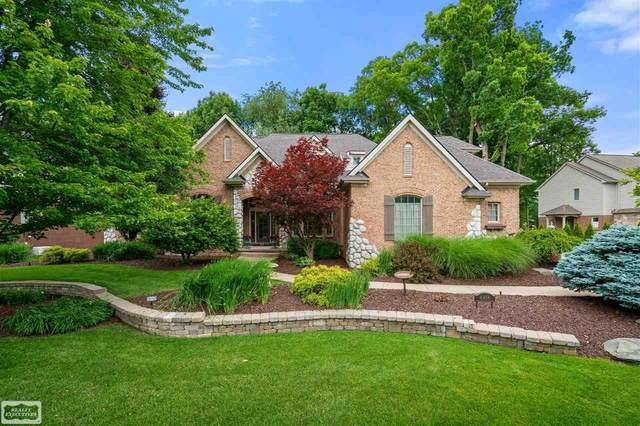 6956 Oakhurst Ridge Rd, Clarkston, MI 48348 (MLS #50046355) :: Kelder Real Estate Group