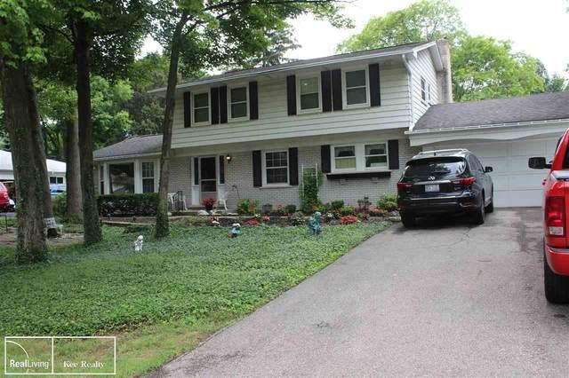 36742 Gloucester, Clinton Township, MI 48035 (MLS #50046647) :: Kelder Real Estate Group